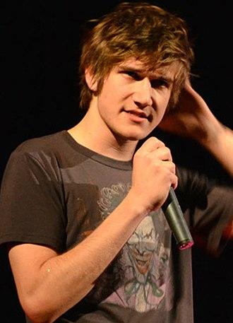 Bo Burnham - Burnham performing in April 2012