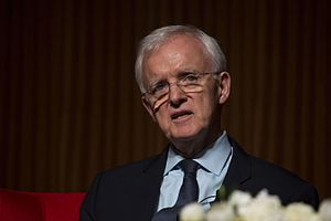 Bob Kerrey - Kerrey at the LBJ Library in 2016