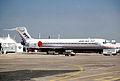 Boeing Company Boeing 717; N717XE@LBG, June 1999 BYG (5288343913).jpg