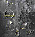 Bohnenberger sattelite craters map.jpg