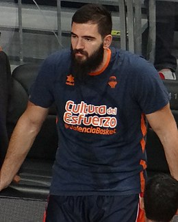 Bojan Dubljević Valencia Basket Euroleague 20171102 (cropped).jpg