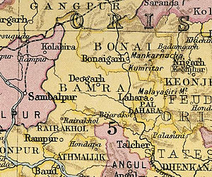 Bamra State - Bamra State in the Imperial Gazetteer of India