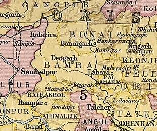 Fürstenstaat Bonai in The Imperial Gazetteer of India