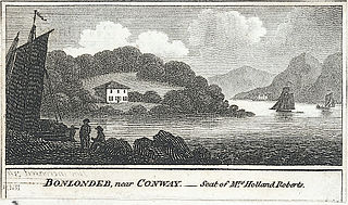 Bonlondeb, near Conway.- Seat of Mrs. Holland Roberts