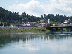 Bonner's Ferry and the Kootenai River