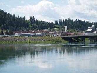 Bonners Ferry, Idaho - Bonner's Ferry and the Kootenai River