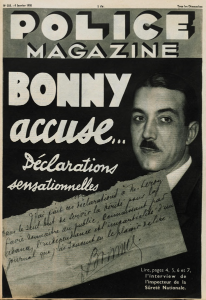 File:Bonny Accuse ! - Police Magazine - 6 janvier 1935.png