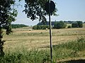 Booßener Straße Richtung Rosengarten - Blick auf B 112n - panoramio.jpg