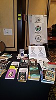 BookSwapping at Wikimania 2018 20180722 151806 (23).jpg