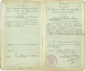 Boris Skossyreff Dutch Passport.png