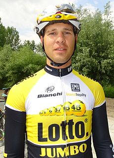 Barry Markus Dutch road bicycle racer