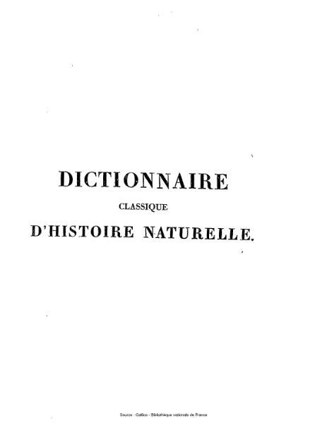 File:Bory de Saint-Vincent - Dictionnaire classique d'histoire naturelle, 14.djvu
