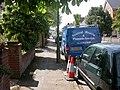 Boscombe, blue van - geograph.org.uk - 1277393.jpg
