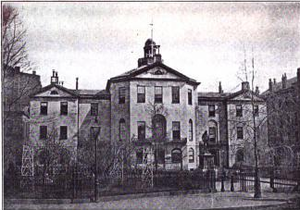 Jonathan Chapman - Boston's City Hall from 1841 to 1865 (Old Suffolk County Courthouse 1810-1841)