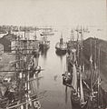 Boston harbor and East Boston from State St. block, by Soule, John P., 1827-1904 cropped.jpg