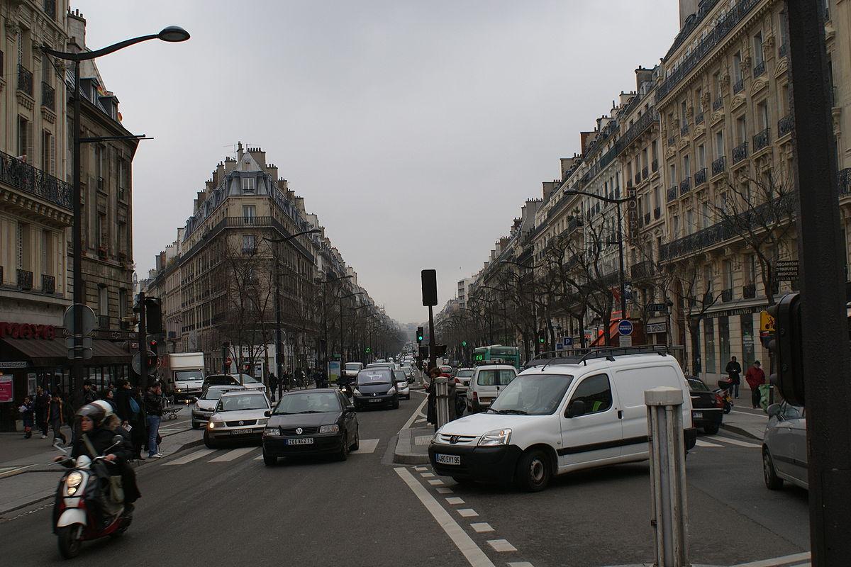 Boulevard de magenta wikipedia for Arrondissement porte d italie