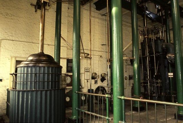Boulton & Watt beam engine (engine floor) - Kew Bridge Steam Museum