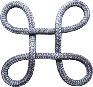 Bowen knot - Image: Bowen knot in rope