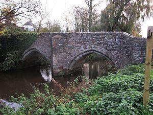 Bradford on Tone - 14th-century Bradford Bridge
