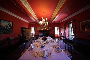 Braemar Castle - Braemar Castle dining room
