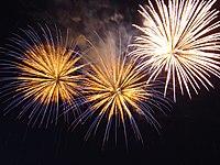New Year Fireworks in Bratislava 2005