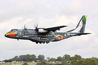 Brazilian Air Force CASA C-295 at 2009 RIAT.jpg