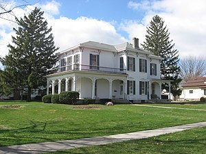 National Register of Historic Places listings in Van Wert County, Ohio - Image: Bredeick Lang House from east southeast