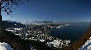 Bregenz - Image: Bregenz pano 1