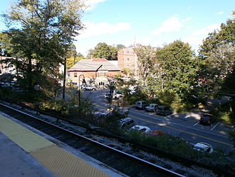 Brewster, New York - View of village from train station