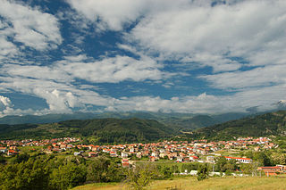 Breznitsa Village in Blagoevgrad Province, Bulgaria