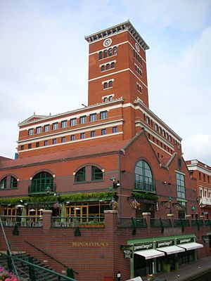 James Brindley - Brindleyplace, Birmingham