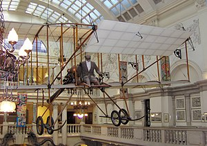 Those Magnificent Men in their Flying Machines - 1963 Replica of the Bristol Boxkite, now hanging in the Bristol City Museum and Art Gallery.