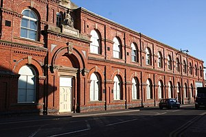 Marshall, Sons & Co. - Former Britannia Iron Works buildings on Beaumont Street, Gainsborough, 2008