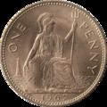 British pre-decimal penny 1967 reverse.png