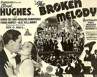 The Broken Melody (1937 film) - The Broken Melody poster