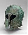 Bronze helmet of Corinthian type MET DT7210.jpg