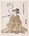 Brooklyn Museum - E-Goyomi (Lady Smoking) - Korinsai.jpg
