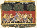 Brooklyn Museum - Krishna and the Gopis Leaf from a Bhagavata Purana Series.jpg