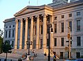 Brooklyn borough hall at sunset.jpg