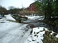 Brookside as it fords the River Medlock - geograph.org.uk - 1161358.jpg