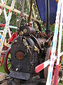 Brown & May 4NHP portable engine 6691 (1901) on swingboats, Hollycombe, Liphook 3.8.2004 P8030084 (10353635924).jpg