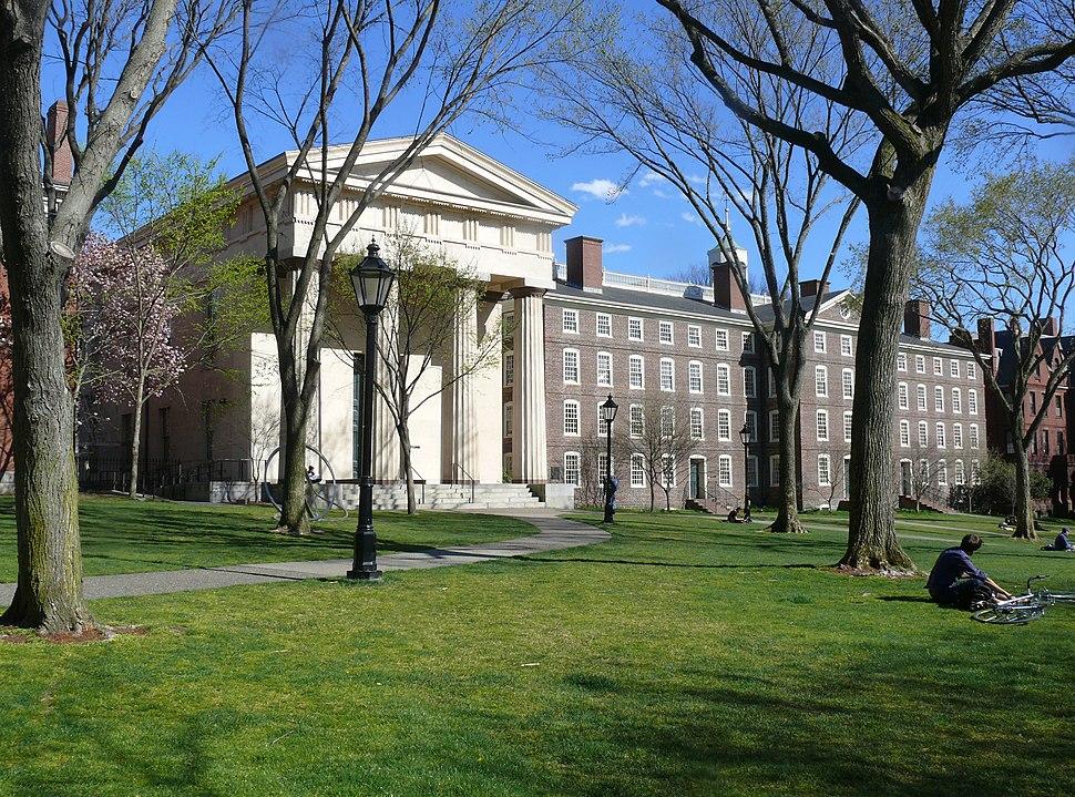 Brown Campus Manning Hall