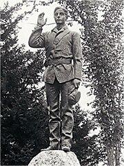 Brownfield Maine Civil War Monument by John Wilson