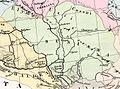Brue, A H ; Levasseur, E 1875 Asie Mineure, Armenie, Syrie, Mesopotamie (R).jpg