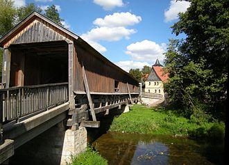 Covered bridge - Buchfart – Alte Holzbrücke 1613