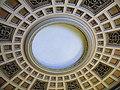 Bucuresti, Romania, Palatul Regal (Muzeul de Arta al Romaniei - Galeria de Arta Europeana - detaliu 23 - Scara Arabescata - plafon); B-II-m-A-19856.JPG