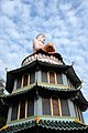 Buddha atop pagoda, Haw Par Villa (14770948086).jpg