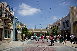 Buena Vista Street - Image: Buena Vista Street at California Adventure