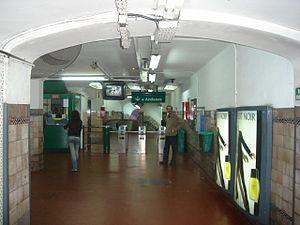 Pueyrredón (Line D Buenos Aires Underground) - Image: Buenos Aires Subte Pueyrredón D 3