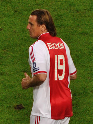 Dmitri Bulykin - Bulykin with Ajax